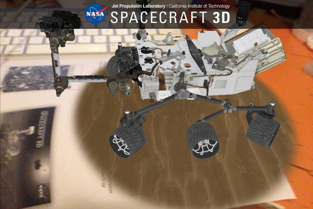 NASA App Puts Spacecraft in Palm of Your Hand