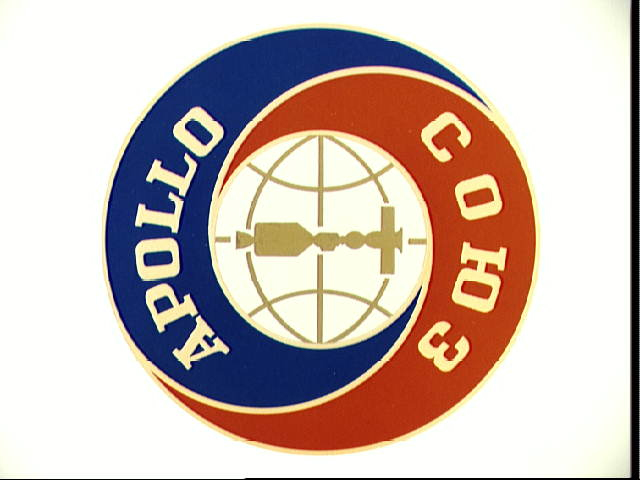 Apollo Soyuz Test Project Official Emblem