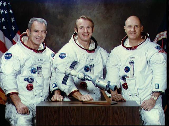 U.S. Crew: Apollo-Soyuz