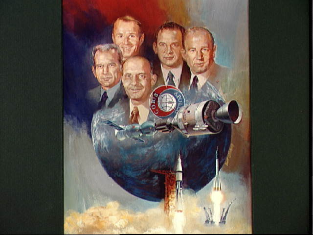 Apollo-Soyuz Test Project Painting