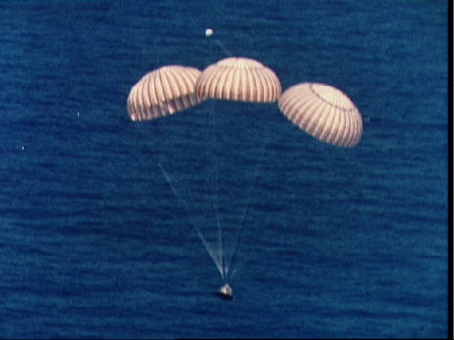 Apollo Splashdown: ASTP