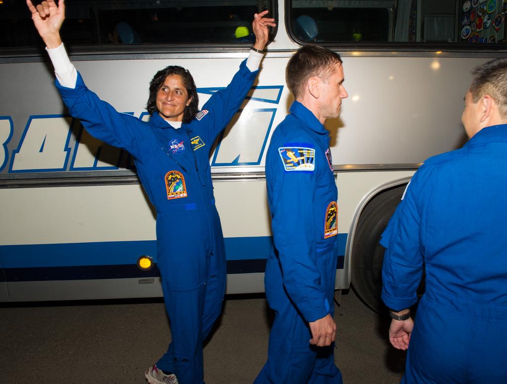 Sunita Williams Bids Adieu: Expedition 33