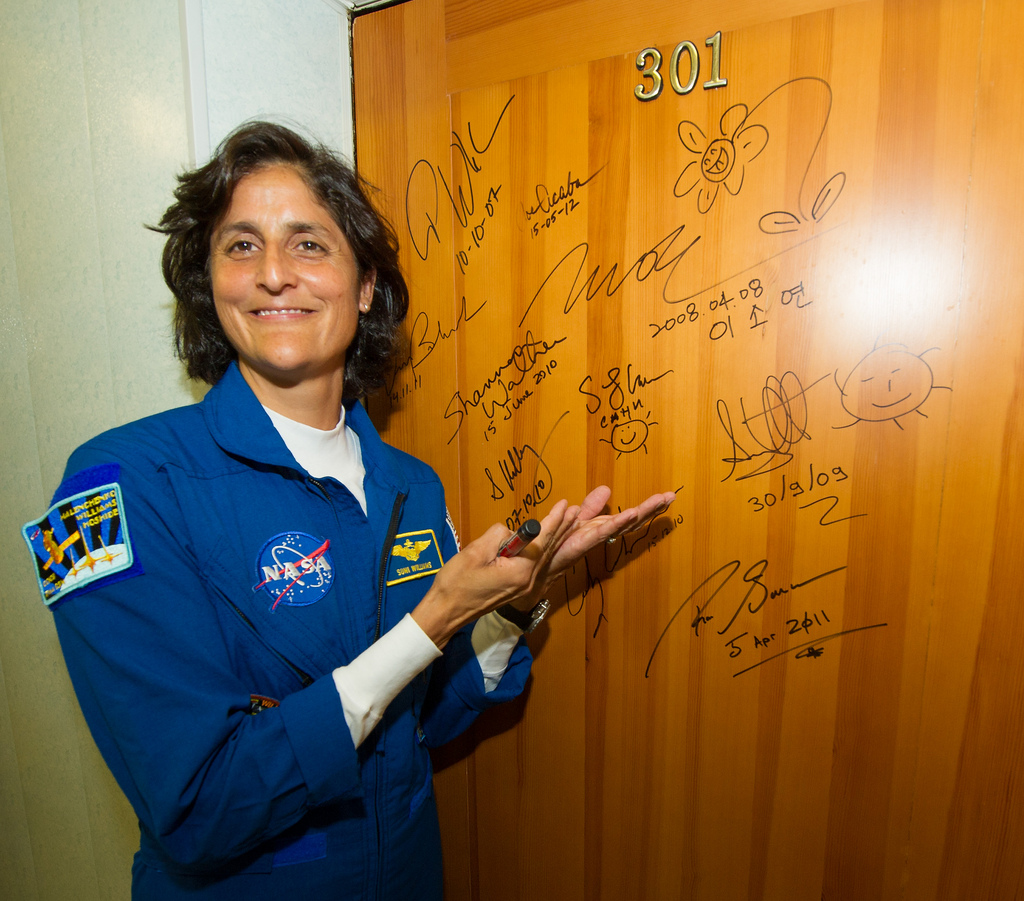 Astronaut Sunita Williams: Expedition 33