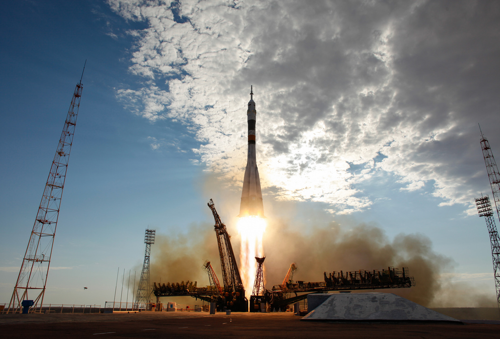 Expedition 32/33 Crew Launch