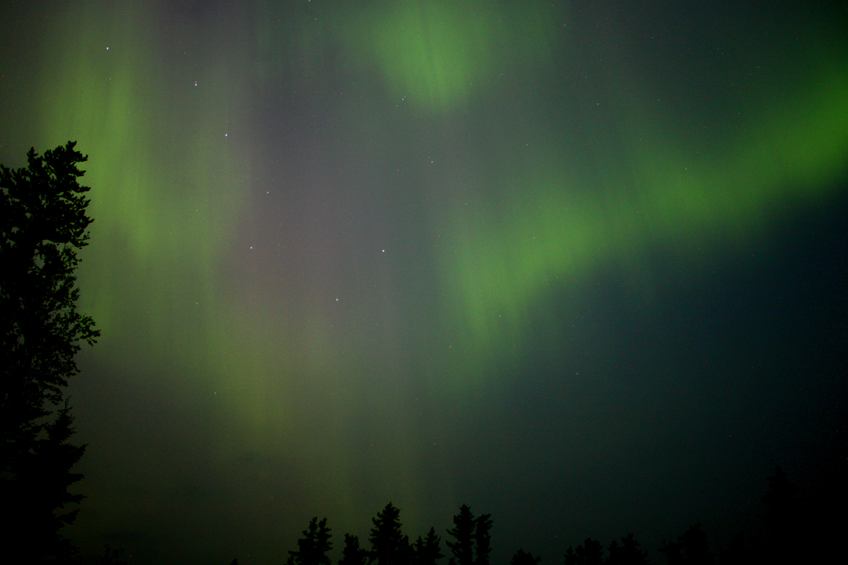Aurora over Northern Manitoba, Canada