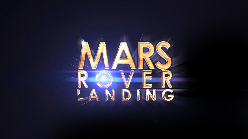 Mars Rover Landing Video Game