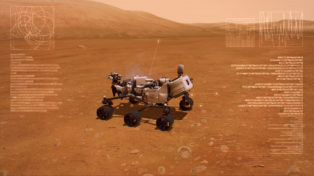 Mars Rover Landing Video Game Screenshot #4