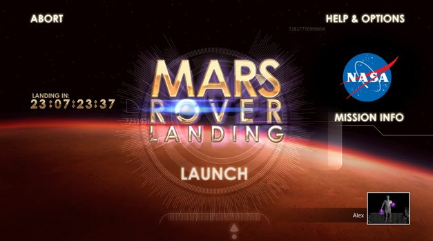 Mars Rover Landing Video Game Screenshot #5