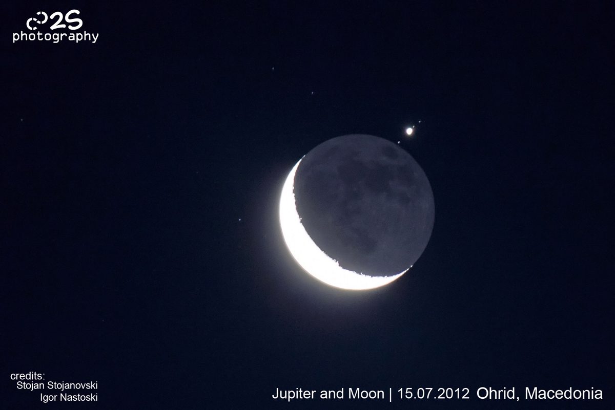 Jupiter Occultation of July 15, 2012 Seen in Macedonia