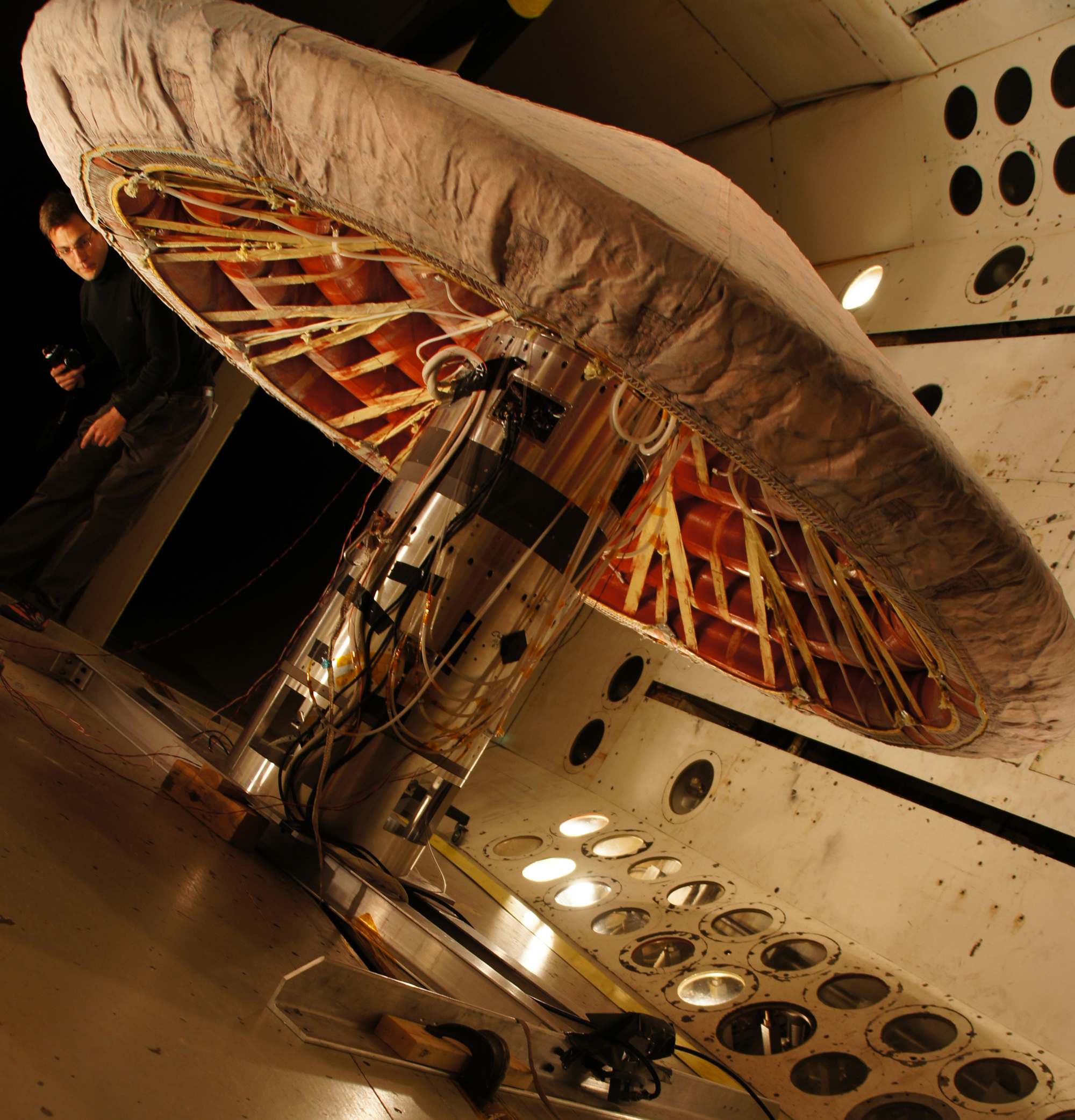 NASA Launching High-Tech Inflatable Heat Shield Test Monday