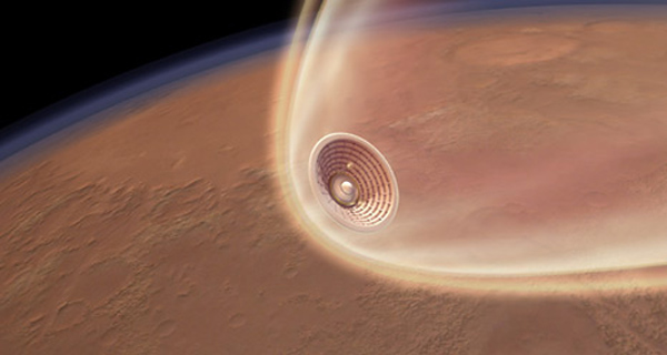 Inflatable Heat Shield for Mars Landing