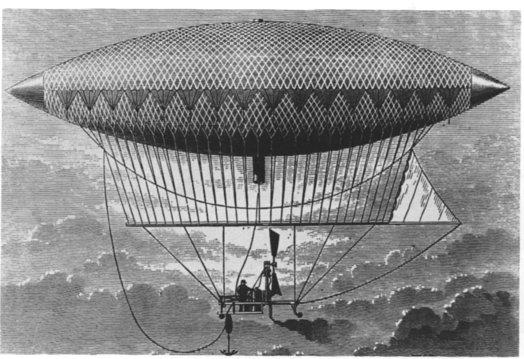 The First Powered Airship | The Greatest Moments in Flight