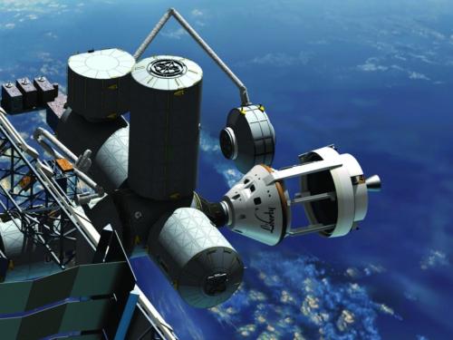 Private Liberty Rocket and Spaceship Pass Key NASA Test
