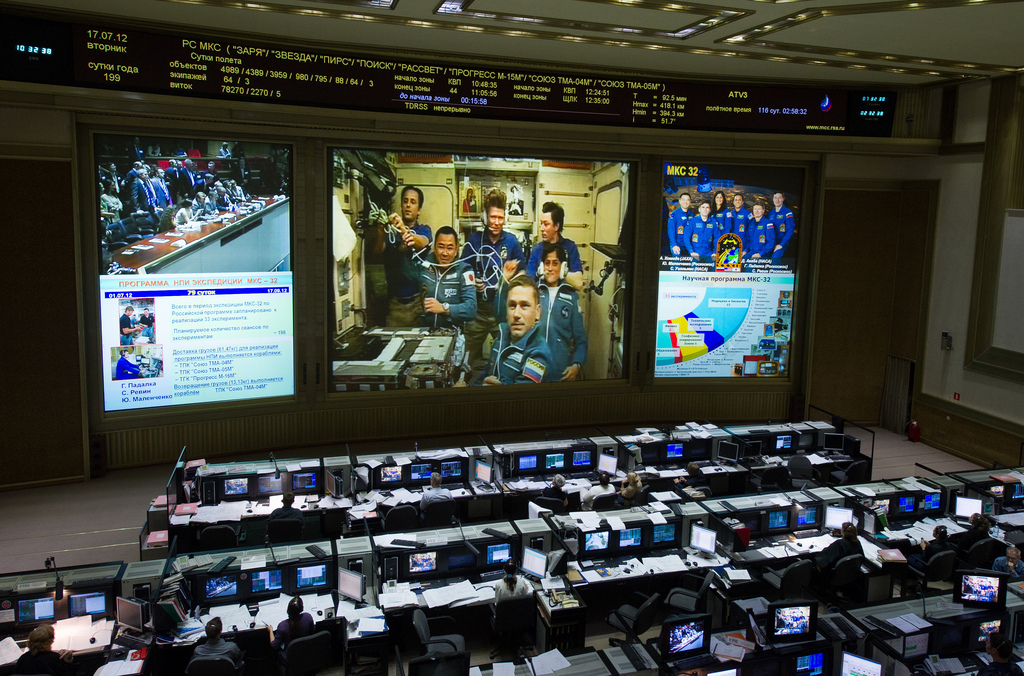 Expedition 32 Docking with ISS