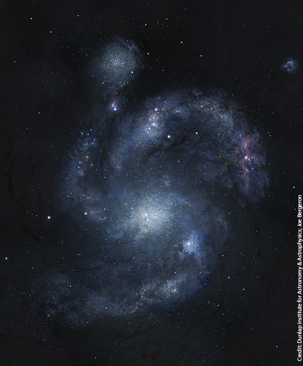 Oldest Spiral Galaxy in Universe Discovered
