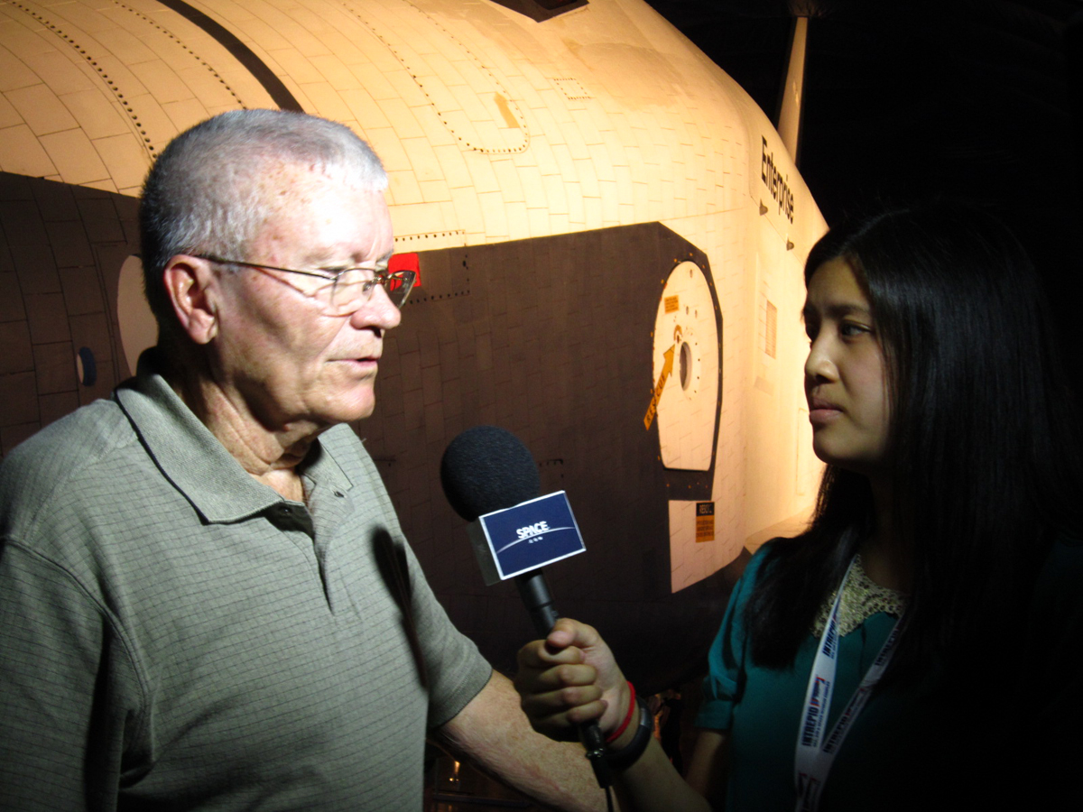Interviewing Fred Haise, Jr.