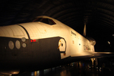 Space Shuttle Enterprise sits in the new Intrepid Museum pavilion, New York City. Photo taken July 18, 2012.