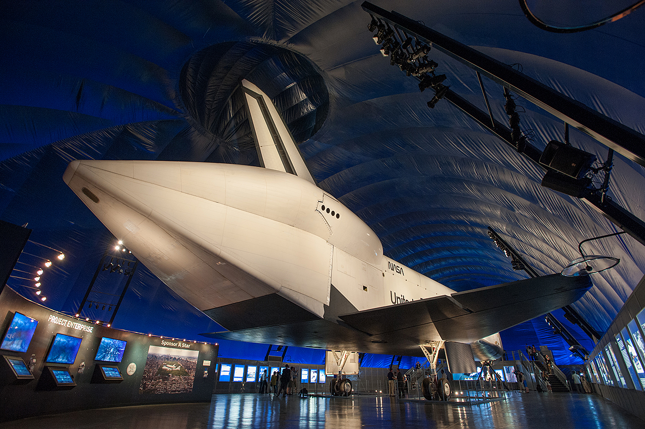 Shuttle Enterprise on Display in NYC