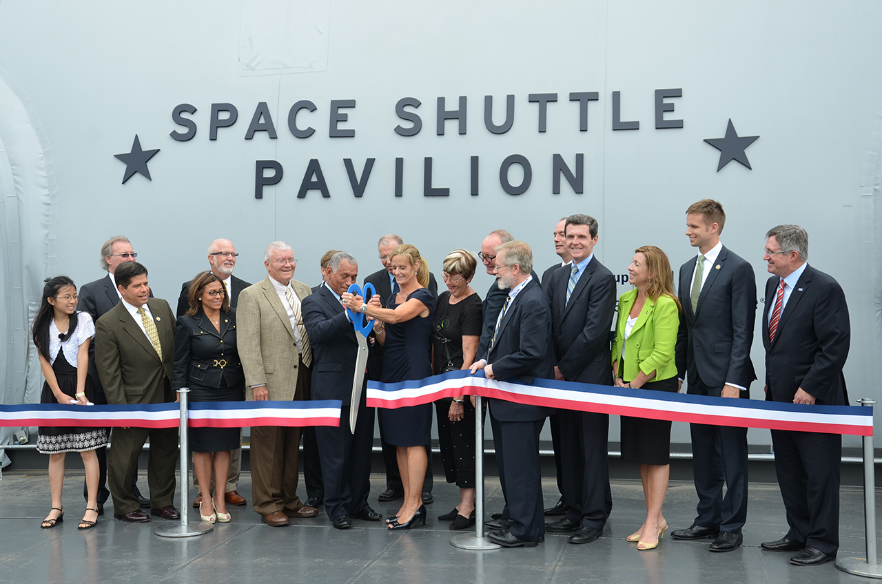 Boldly Go: Space Shuttle Enterprise Opens to Public at NYC Museum