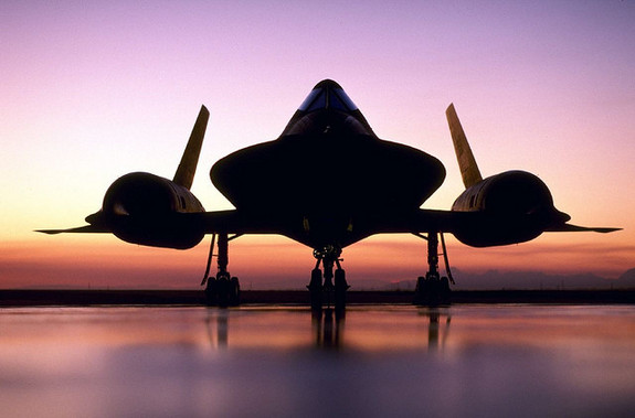 The SR-71 Blackbird,