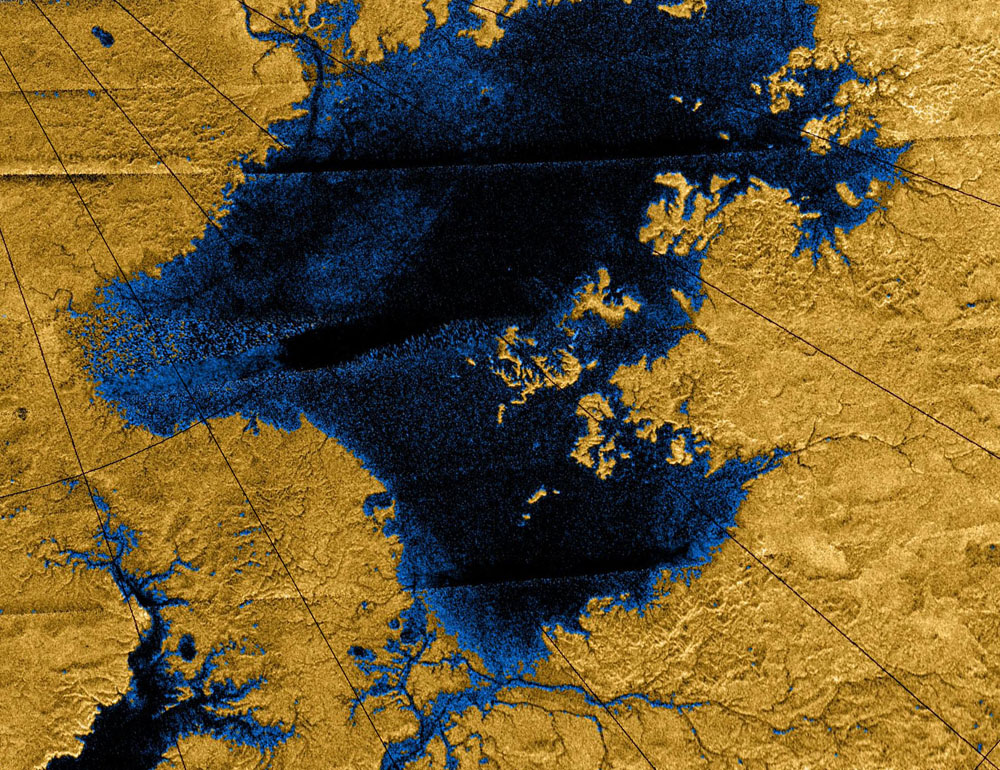 Saturn's Moon Titan May Have Seen Earth-Like Erosion