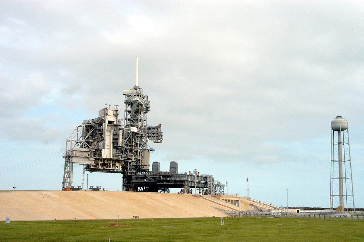 Launch Pad 39A at NASA's Kennedy Space Center