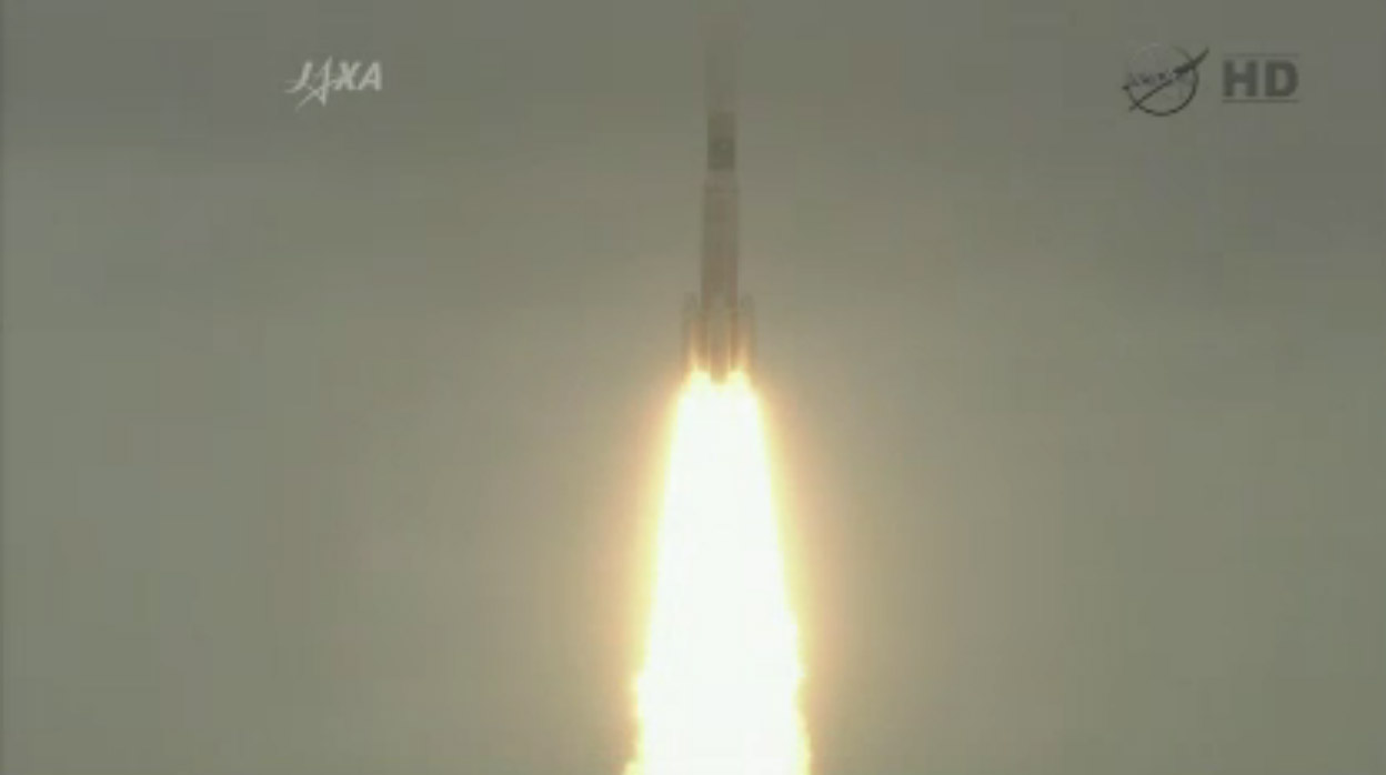 HTV-3 Launches