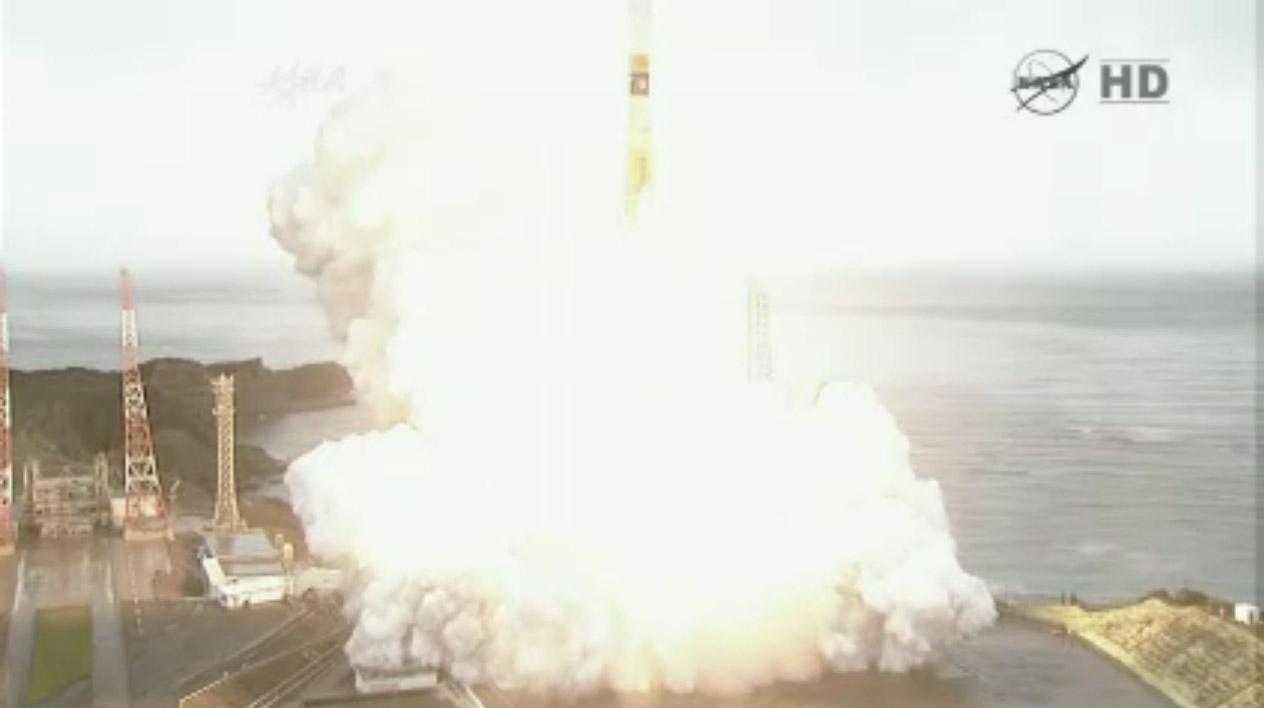 H2-B Liftoff