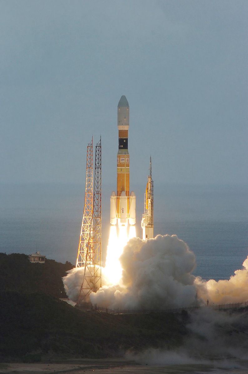 Japan's H-2B Rocket Launches HTV-3