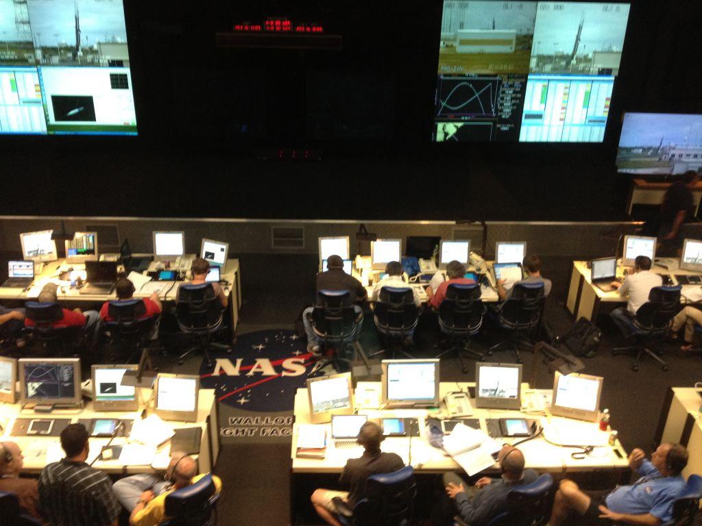 NASA HIAD IRVE-3 Launch Team