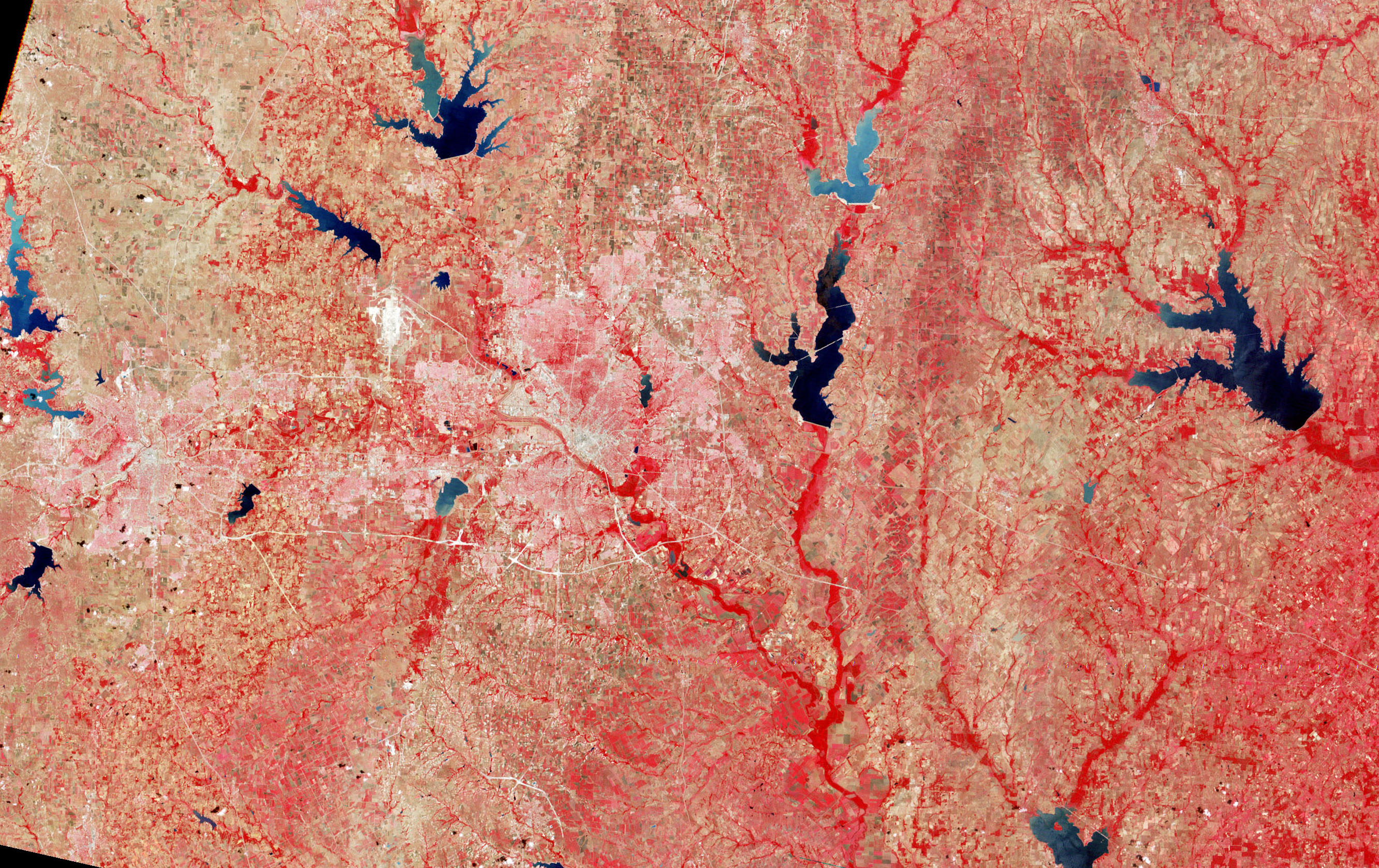 Landsat 1: First Earth Views