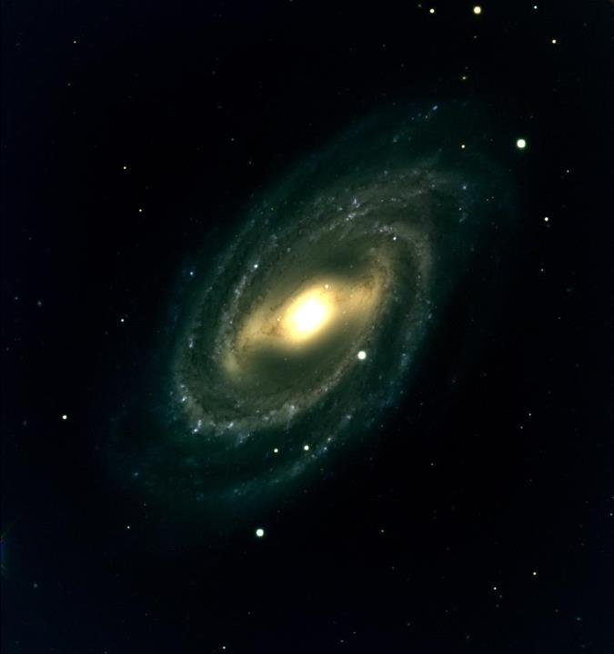 Barred Spiral Galaxy M109