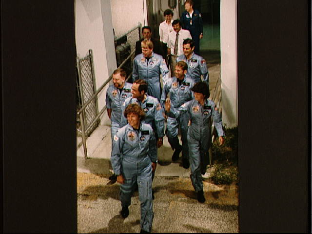 STS-41G Crew Photo