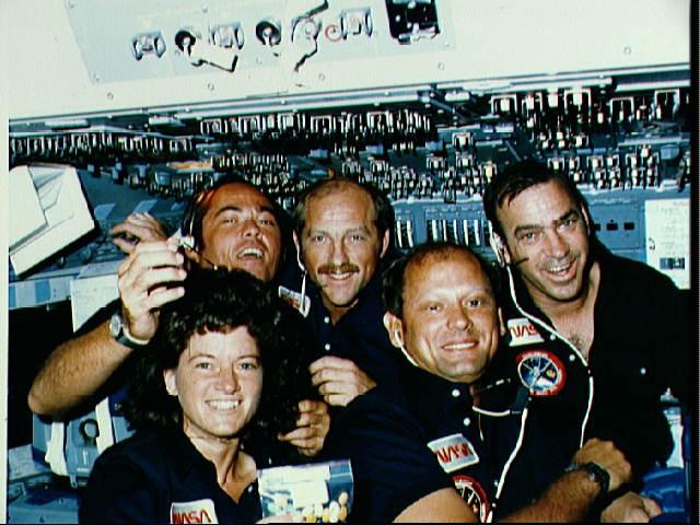 STS-7 Crew Photo