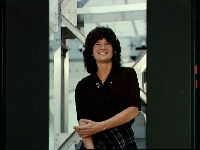 Sally Ride Answers Questions About STS-7 Mission