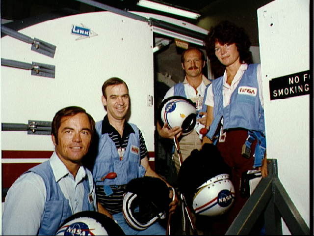 STS-7 Crew During Training