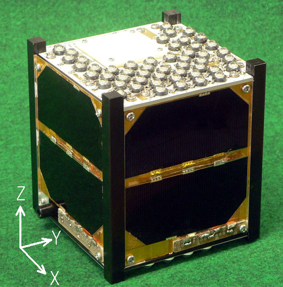 Flashing FITSAT-1 Cubesat