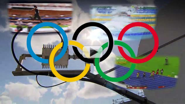 2012 Olympics - 4.5 Billion Viewers Via Satellites Predicted | Video