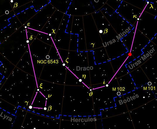 Draco Constellation: Facts About the Dragon