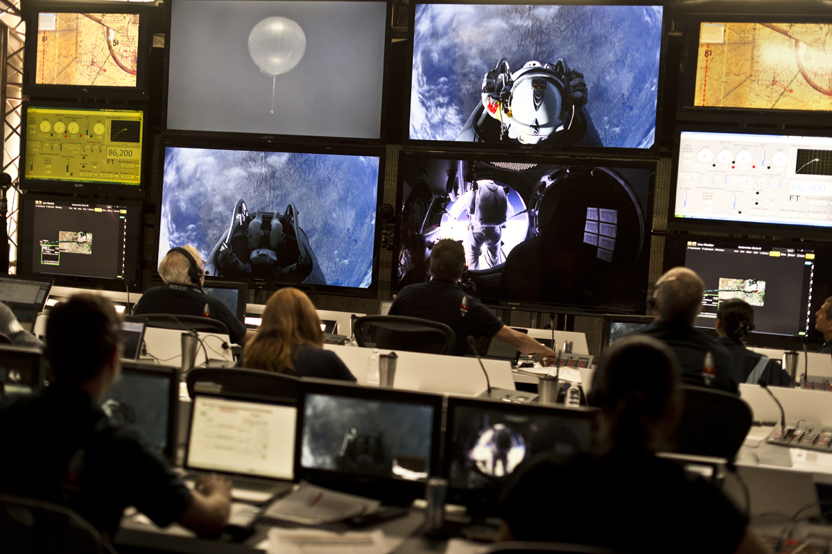 Red Bull Stratos Mission Control