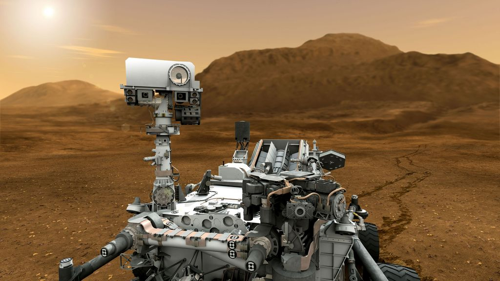 2012: Uncharted Territory — Mars Science Laboratory