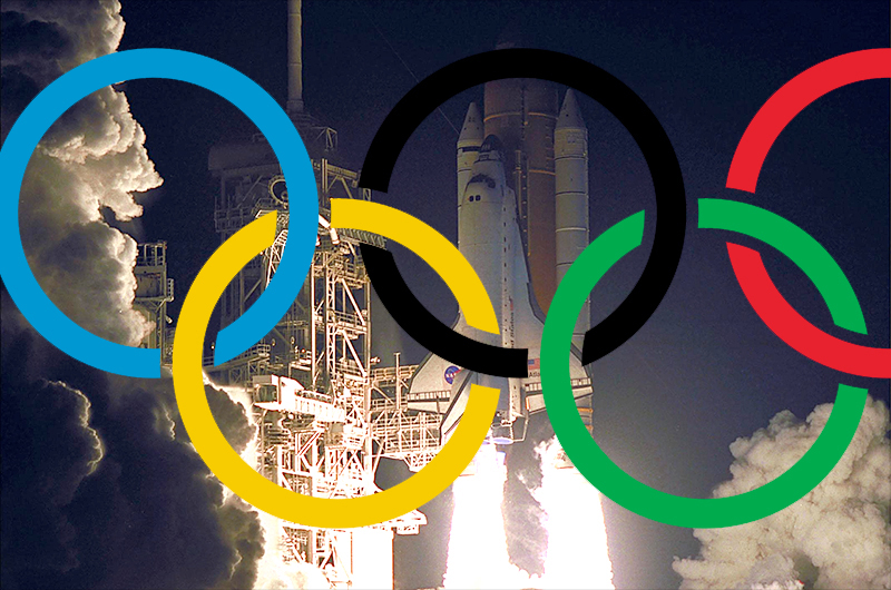 How NASA Launched the 2012 Olympics 12 Years Ago