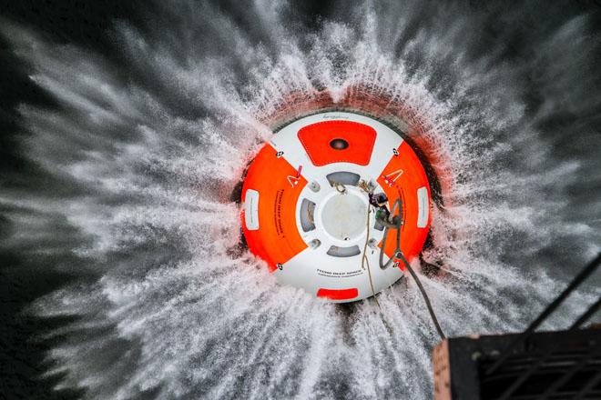 Tycho Deep Space Capsule Drop Test