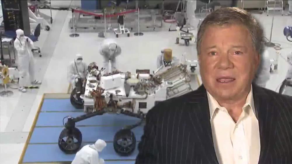 'Star Trek' Actors Star in New Mars Rover Landing Videos