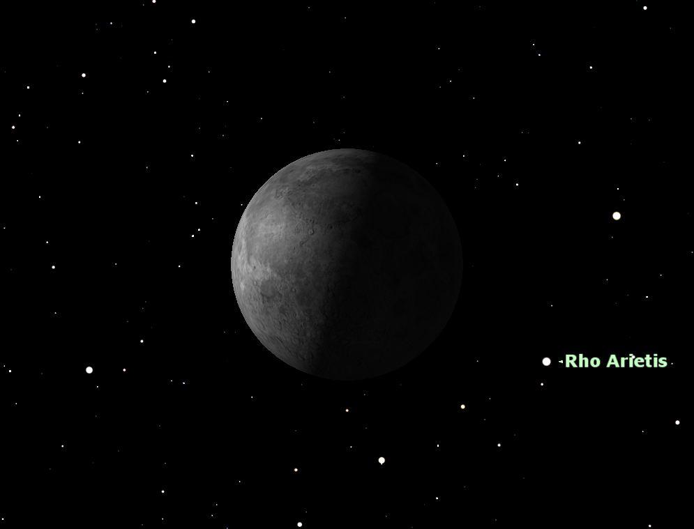 August 2012 Last Quarter Moon