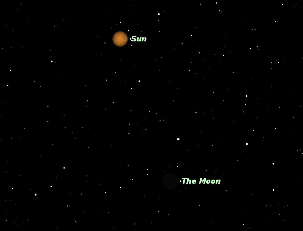 August 2012 New Moon