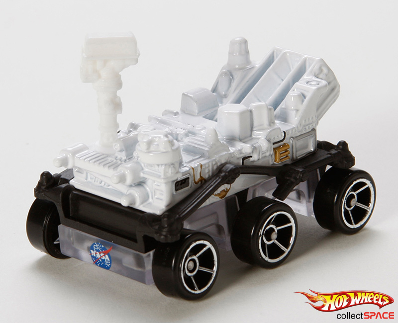 Hot Wheels on Mars: Mattel to Land NASA's Curiosity Rover in Toy Stores