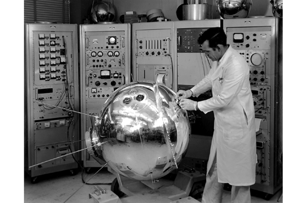 Space History Photo: Explorer XVII Satellite