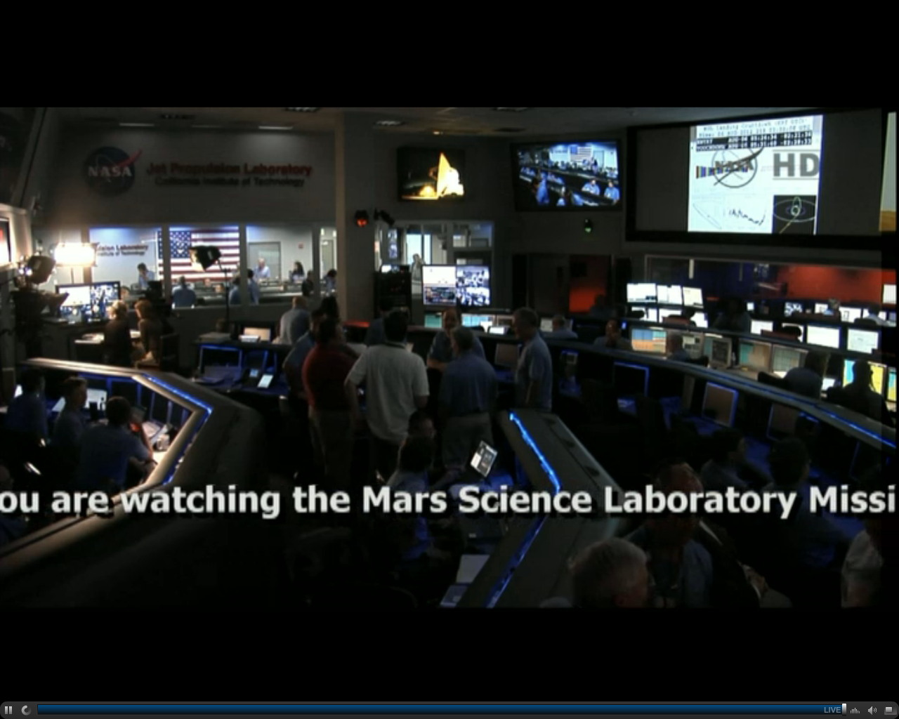 Mars Science Laboratory Mission Support Area