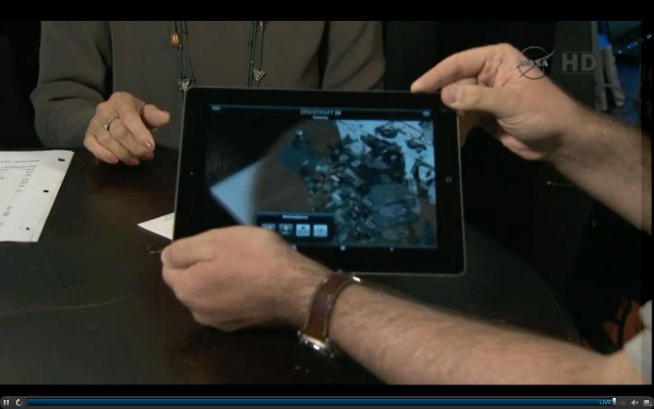 Doug Ellison's Curiosity iPad App